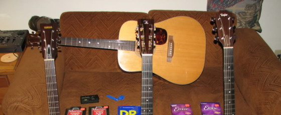 The Top 3 Acoustic Guitars Reviewed